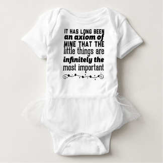 It has long been an axiom of mine that the little baby bodysuit