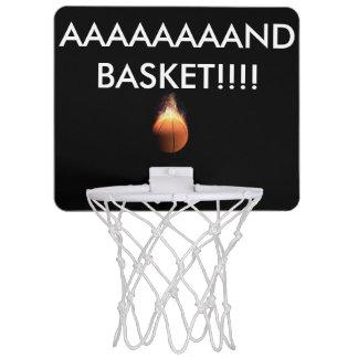 it help to do a basket.. mini basketball hoop