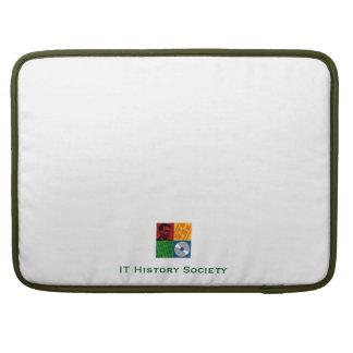 "IT History Society 15"" laptop case (original logo)"