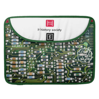 IT History Society laptop case (PCB logo)