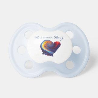 It is a boy! pacifier