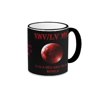 It Is A Red & Black World Cup Ringer Mug