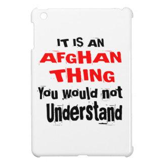 It Is AFGHAN Thing Designs iPad Mini Case