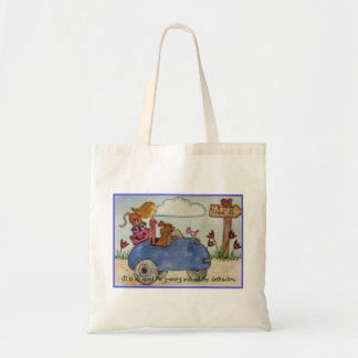 It is all about the journey and not the destinatio budget tote bag