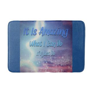 It is amazing bath mat