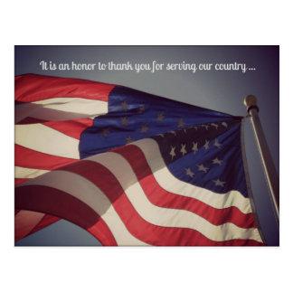 It is an honour ... Veterans Day Postcard