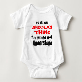 IT IS ANGOLAN THING DESIGNS BABY BODYSUIT