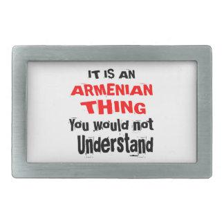 IT IS ARMENIAN THING DESIGNS BELT BUCKLES