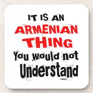IT IS ARMENIAN THING DESIGNS COASTER