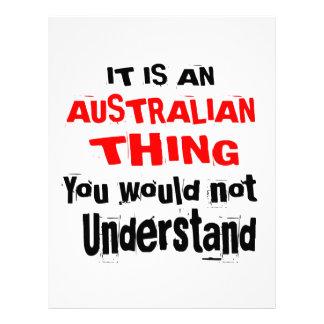 IT IS AUSTRALIAN THING DESIGNS LETTERHEAD