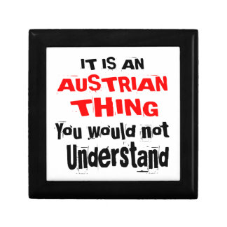IT IS AUSTRIAN THING DESIGNS GIFT BOX