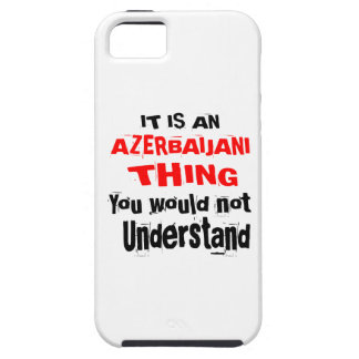 IT IS AZERBAIJANI THING DESIGNS iPhone 5 CASE