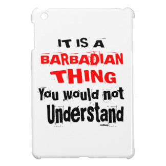 IT IS BARBADIAN THING DESIGNS iPad MINI COVERS