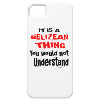 IT IS BELIZEAN THING DESIGNS iPhone 5 COVER