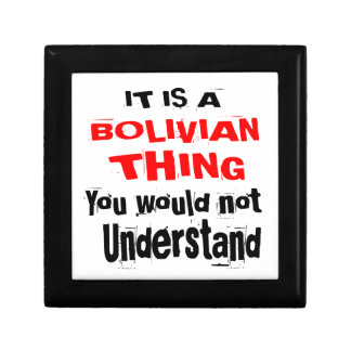IT IS BOLIVIAN THING DESIGNS GIFT BOX