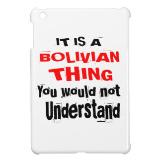 IT IS BOLIVIAN THING DESIGNS iPad MINI COVER
