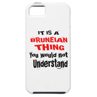 IT IS BRUNEIAN THING DESIGNS iPhone 5 COVER