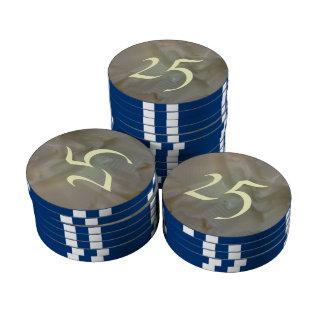 It is Butter Poker Chip Set