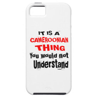 IT IS CAMEROONIAN THING DESIGNS iPhone 5 CASES