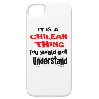 IT IS CHILEAN THING DESIGNS iPhone 5 CASE