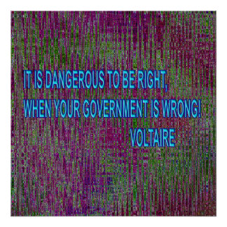 IT IS DANGEROUS TO BE RIGHT... POSTER