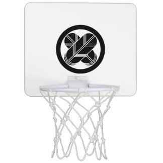 It is different to the circle, the feather of the mini basketball backboard