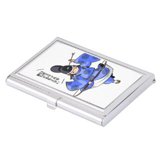 It is difficult a u English story Nikko Toshogu Business Card Holder