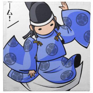 It is difficult a u English story Nikko Toshogu Napkin