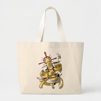 It is difficult a u u u u u u! English story Nikko Large Tote Bag