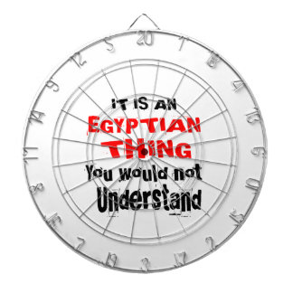 IT IS EGYPTIAN THING DESIGNS DARTBOARD