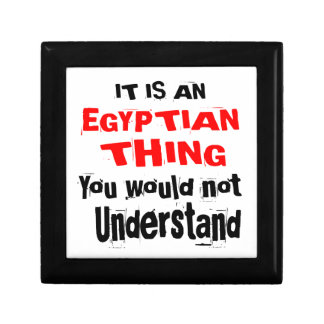 IT IS EGYPTIAN THING DESIGNS GIFT BOX