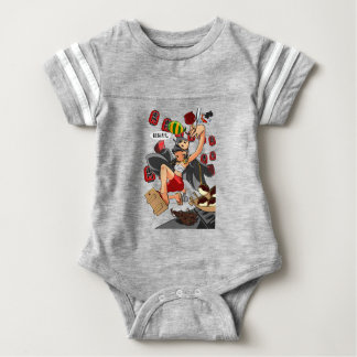 It is enterprise, it is shallow! English story Baby Bodysuit
