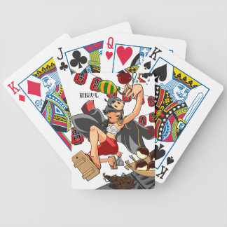 It is enterprise, it is shallow! English story Bicycle Playing Cards