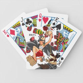 It is enterprise, it is shallow! English story Poker Deck