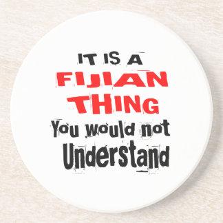 IT IS FIJIAN THING DESIGNS COASTER