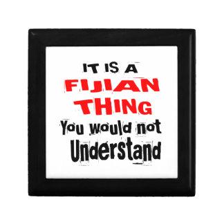 IT IS FIJIAN THING DESIGNS GIFT BOX