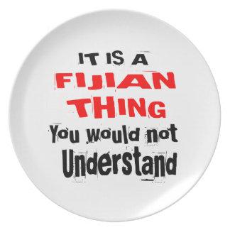 IT IS FIJIAN THING DESIGNS PLATE