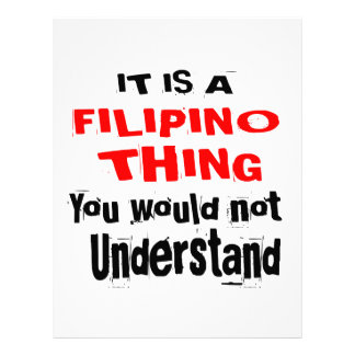 IT IS FILIPINO THING DESIGNS LETTERHEAD