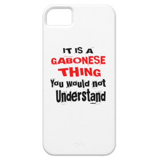 IT IS GABONESE THING DESIGNS iPhone 5 CASES