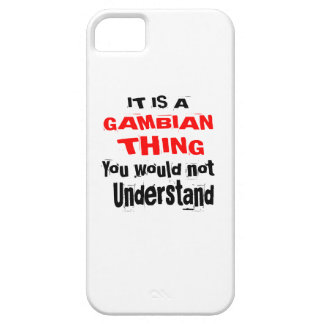 IT IS GAMBIAN THING DESIGNS iPhone 5 COVERS