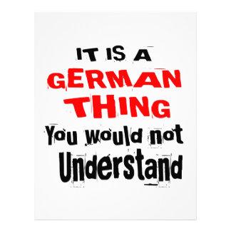 IT IS GERMAN THING DESIGNS LETTERHEAD