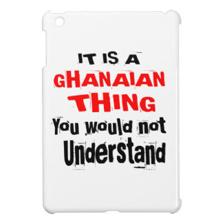IT IS GHANAIAN THING DESIGNS iPad MINI COVERS