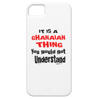 IT IS GHANAIAN THING DESIGNS iPhone 5 COVER