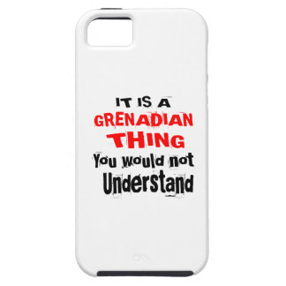 IT IS GRENADIAN THING DESIGNS iPhone 5 CASE