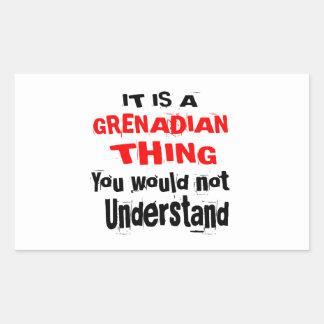 IT IS GRENADIAN THING DESIGNS STICKER