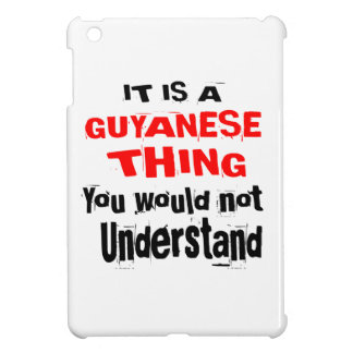 IT IS GUYANESE THING DESIGNS iPad MINI COVERS