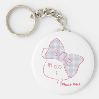 It is huge* Ribbon Basic Round Button Keychain