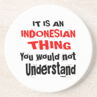 IT IS INDONESIAN THING DESIGNS COASTER