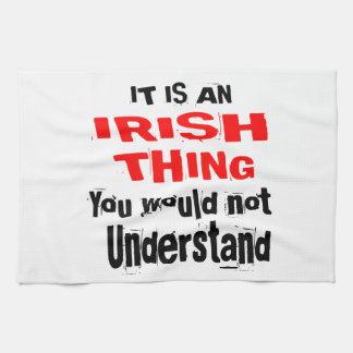 IT IS IRISH THING DESIGNS KITCHEN TOWEL
