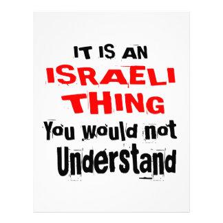 IT IS ISRAELI THING DESIGNS LETTERHEAD